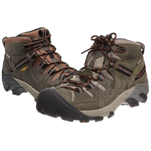 Hiking Boots in Kahuzi-Biega
